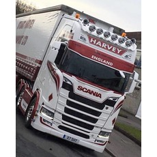 Coles Custom Glasfiber Zonneklep voor Scania NextGen