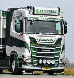 Deep Scania Nextgen Sunvisor Alu straight