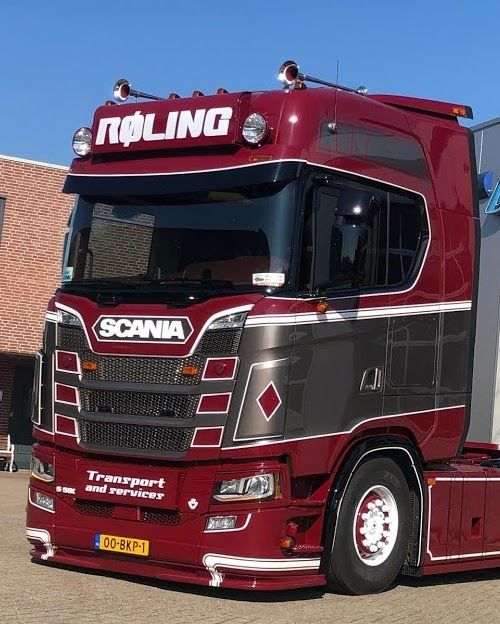 Dirt deflectors for Scania S Nextgen