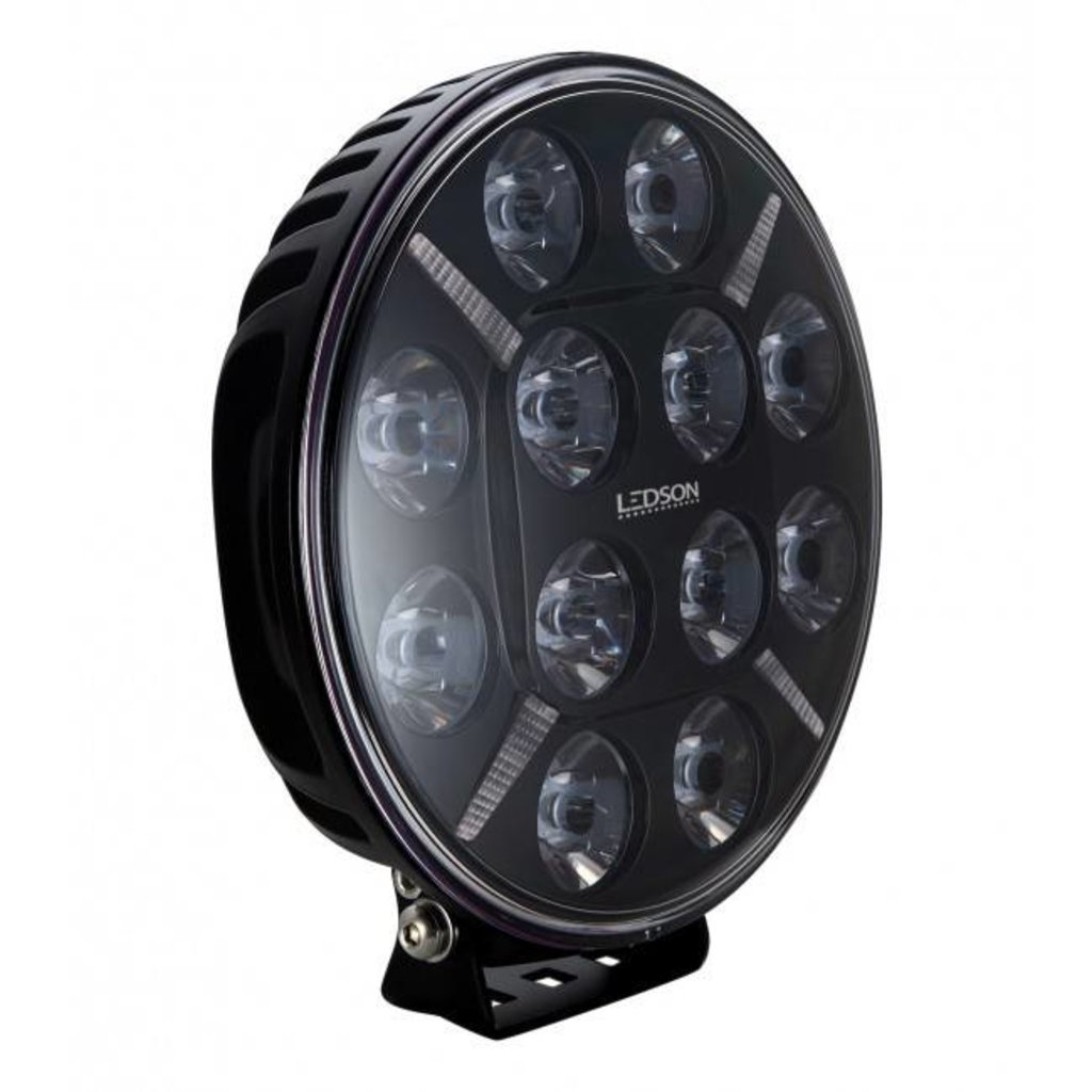 Ledson Pollux 9 Driving light with amber and white positionlight!