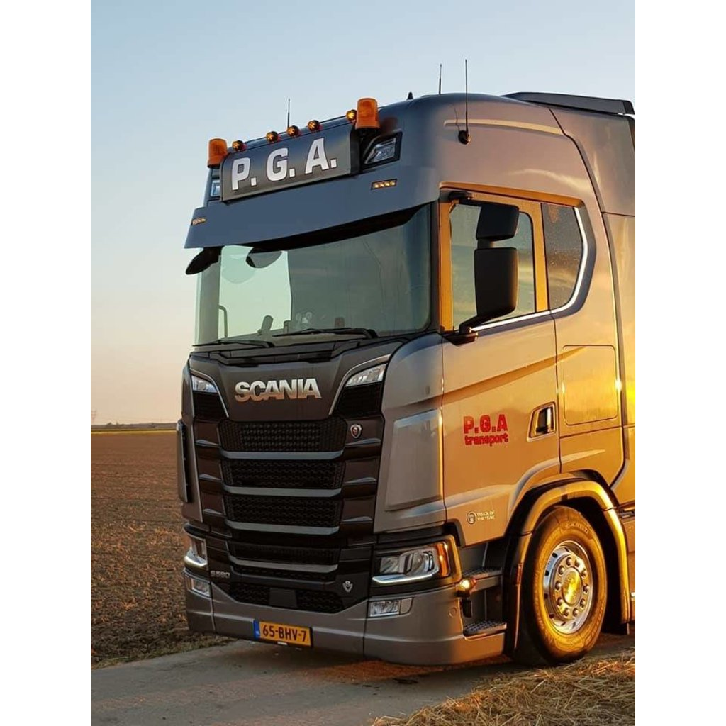 Dirt deflectors for Scania  Nextgen