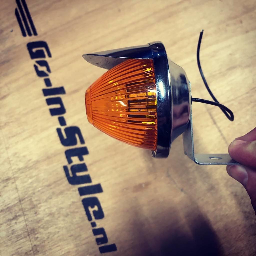 Oldskool Orange Mullion Light