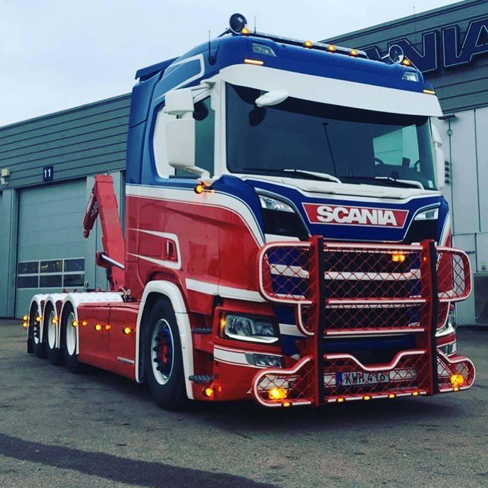 RVS Spiegel verlengsteun voor Scania NGS