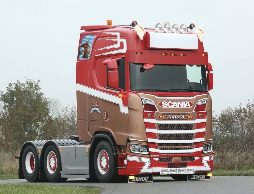 Stainless Mirror extension for Scania NGS