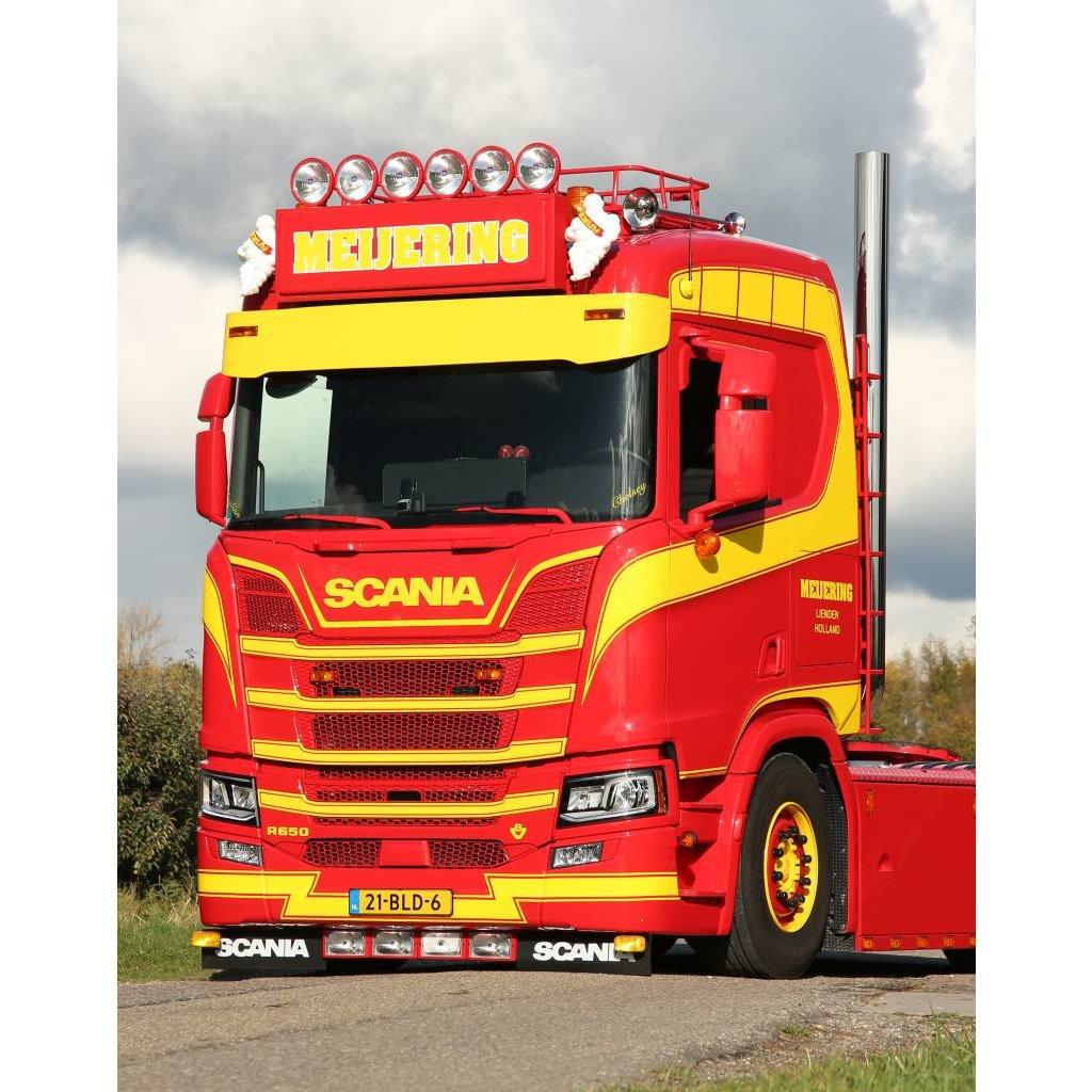 Deep Fox Parts Sunvisor for Scania Nextgen straight