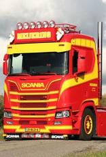 Deep aluminium Sunvisor for Scania Nextgen straight