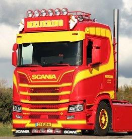 Scania NextGen zonneklep Alu recht