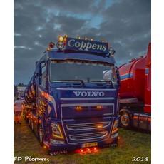 Oranje LED dagrijverlichting voor de Volvo FH4 af 2016