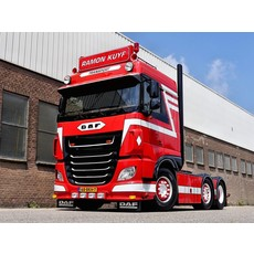 English Sunvisor for DAF XF Space Cab