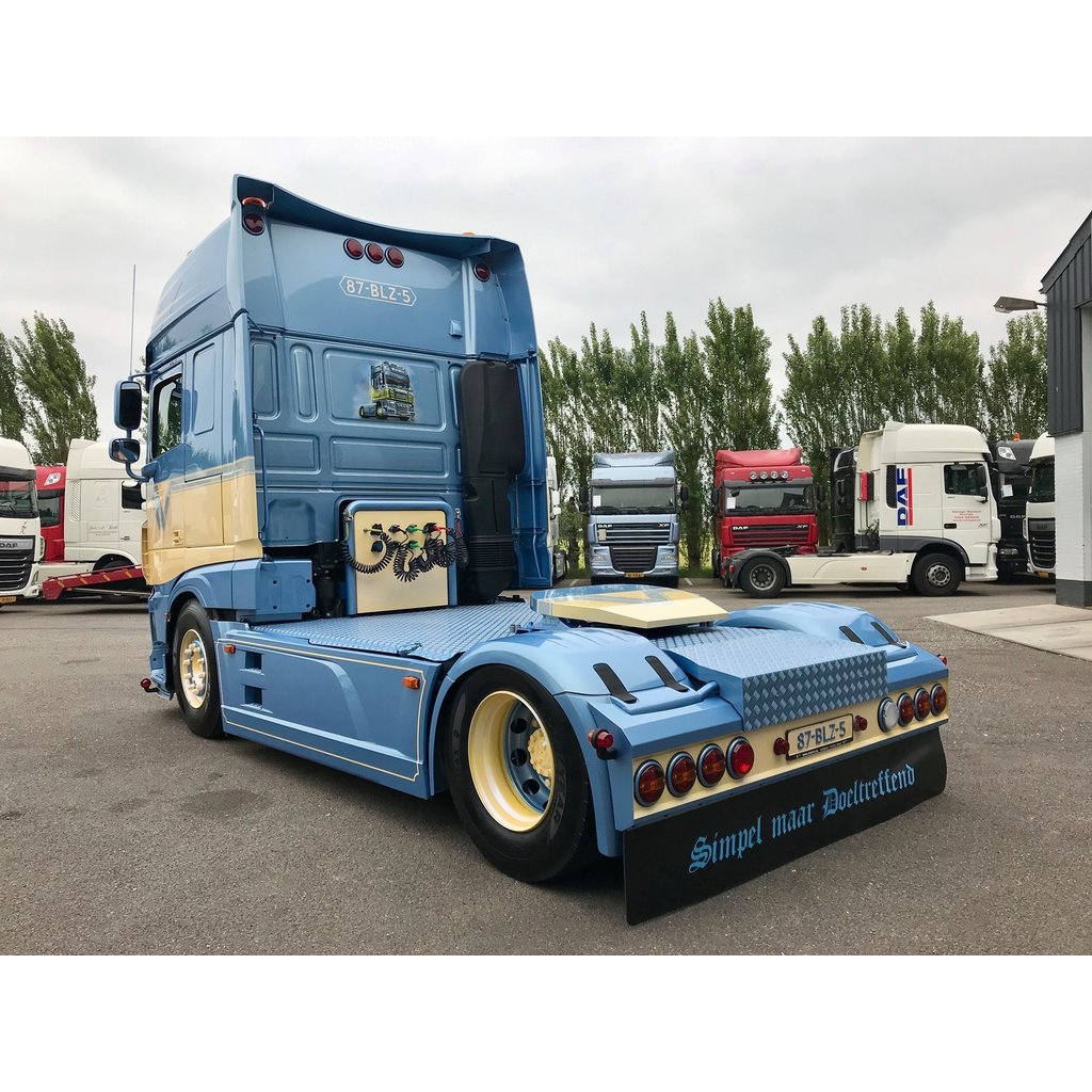 Sideskirt extensions (set) for DAF XF Euro6