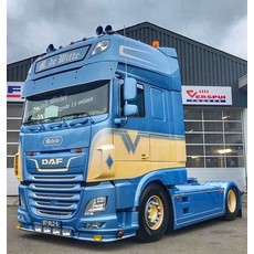 Sideskirt extensions (set) for DAF XF Euro 6