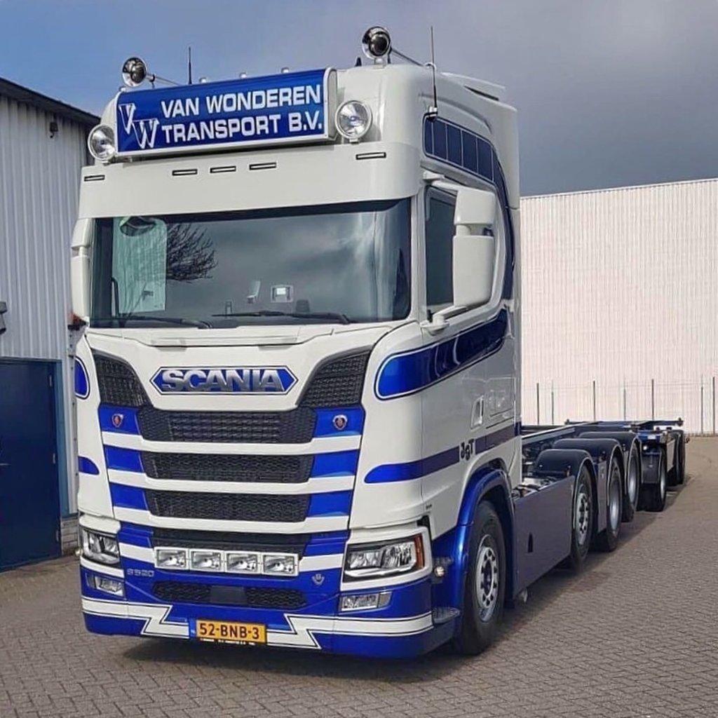 34 cm Zonneklep voor Scania NGS