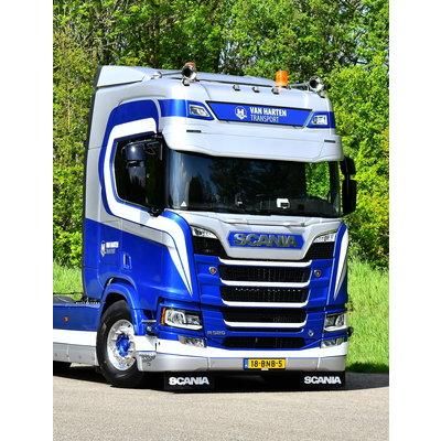 Coles Custom Zonneklep Scania NGS