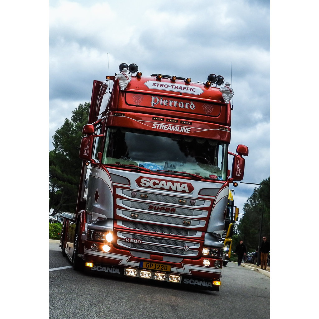 Solarguard Zonneklep voor Scania Streamline
