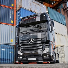Fox Parts low Sunvisor for Mercedes Actros