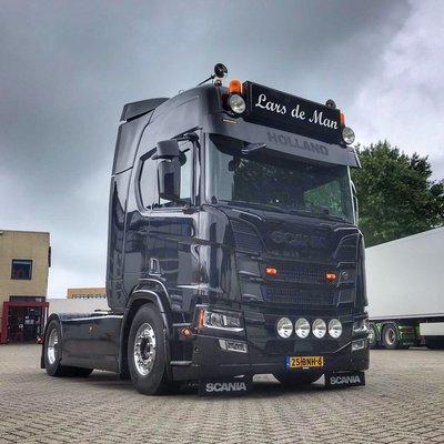 Lichtbaksteunen (set) Scania NG