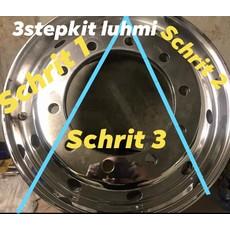 3 Stappen polijstproducten in 1 kit by Luhmi