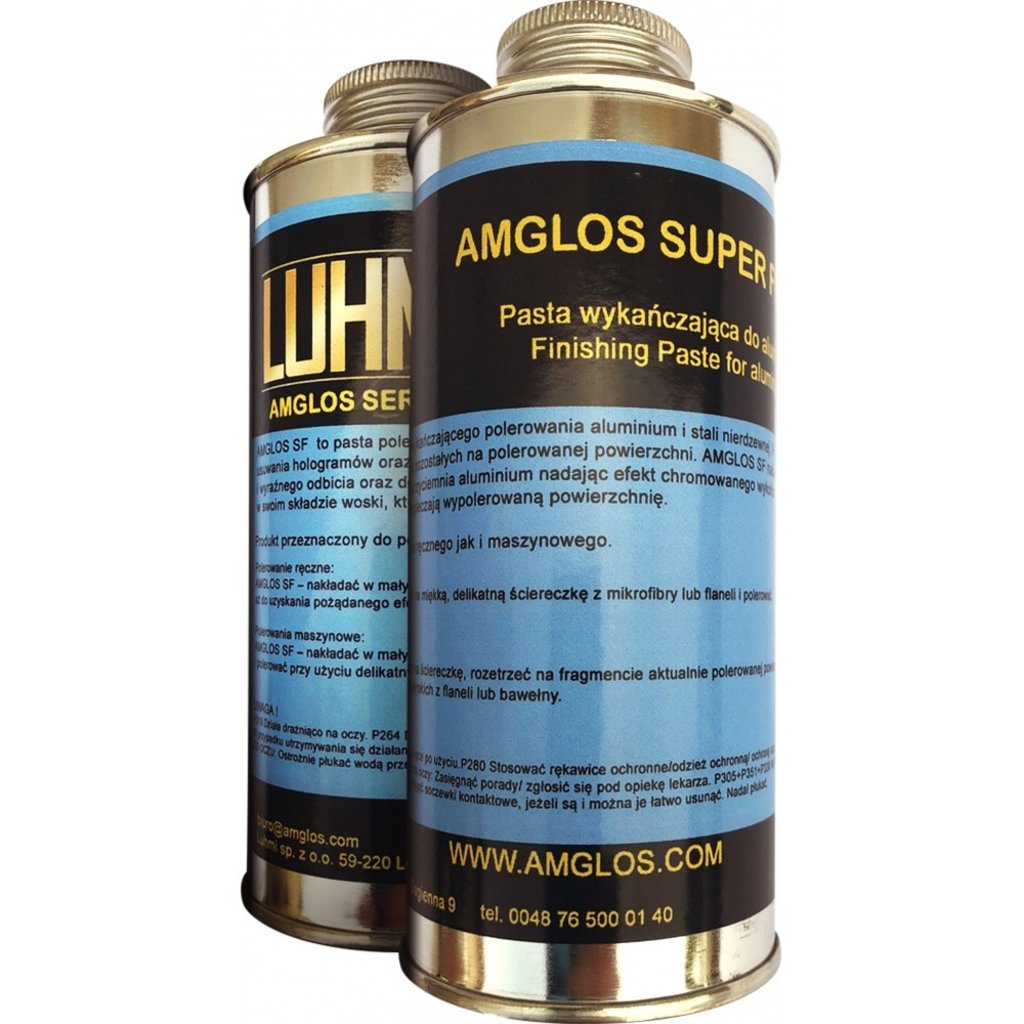Amglos Super Finish 0,25kg for the finishing touch and protection!