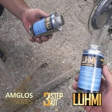 3 Step polishing products in 1 box by Luhmi