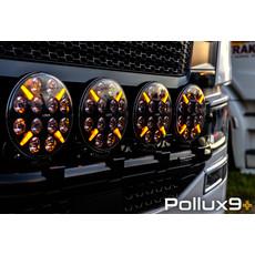 Ledson Pollux 9 verstraler met oranje en wit stadslicht!