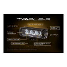 Lazer Triple-R 750 black with positionlight 230mm