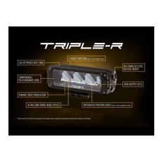 Lazer Triple-R 1250 black with positionlight 590mm