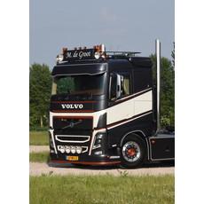 Solarguard Zonneklep Verlenger voor Volvo FH4