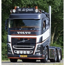 Solarguard Zonneklep Verlenger voor Volvo FH4/FH5