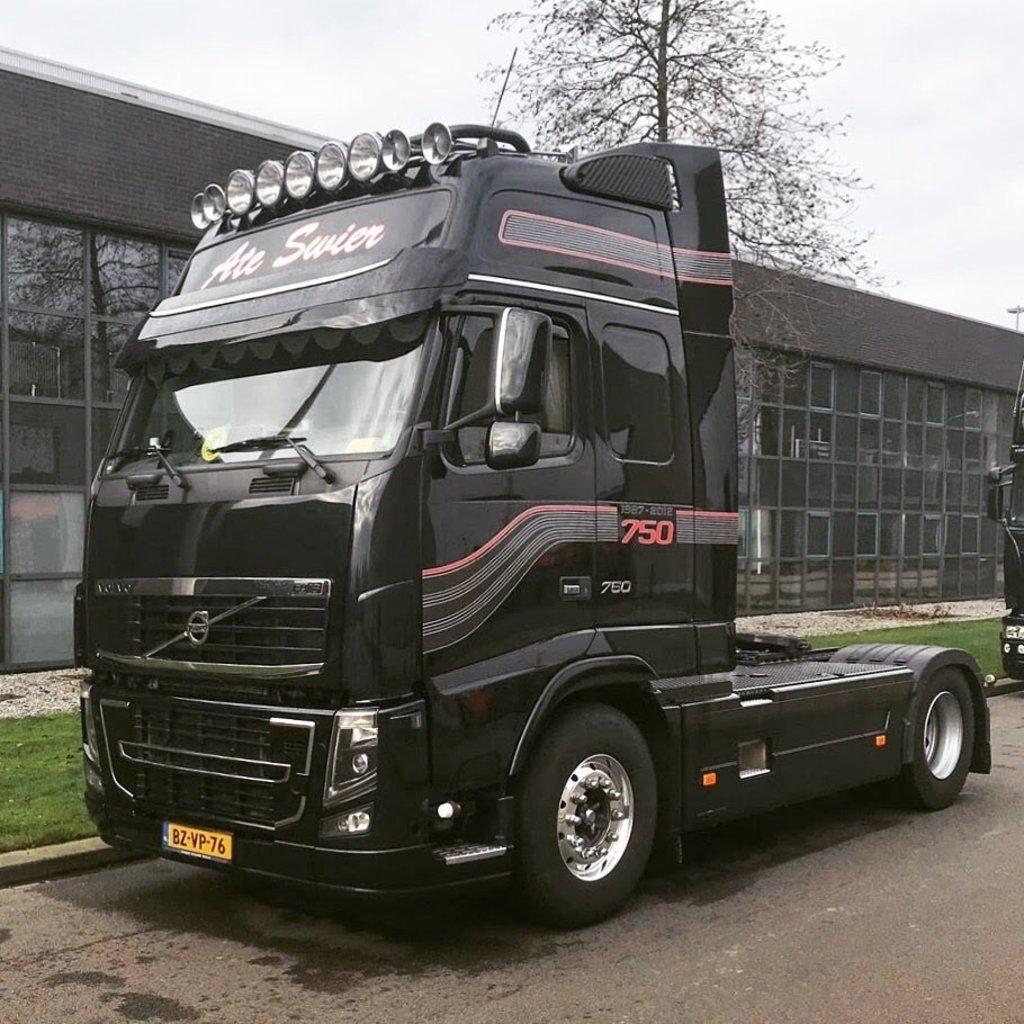 Solarguard Zonneklep Verlenger voor Volvo FH3