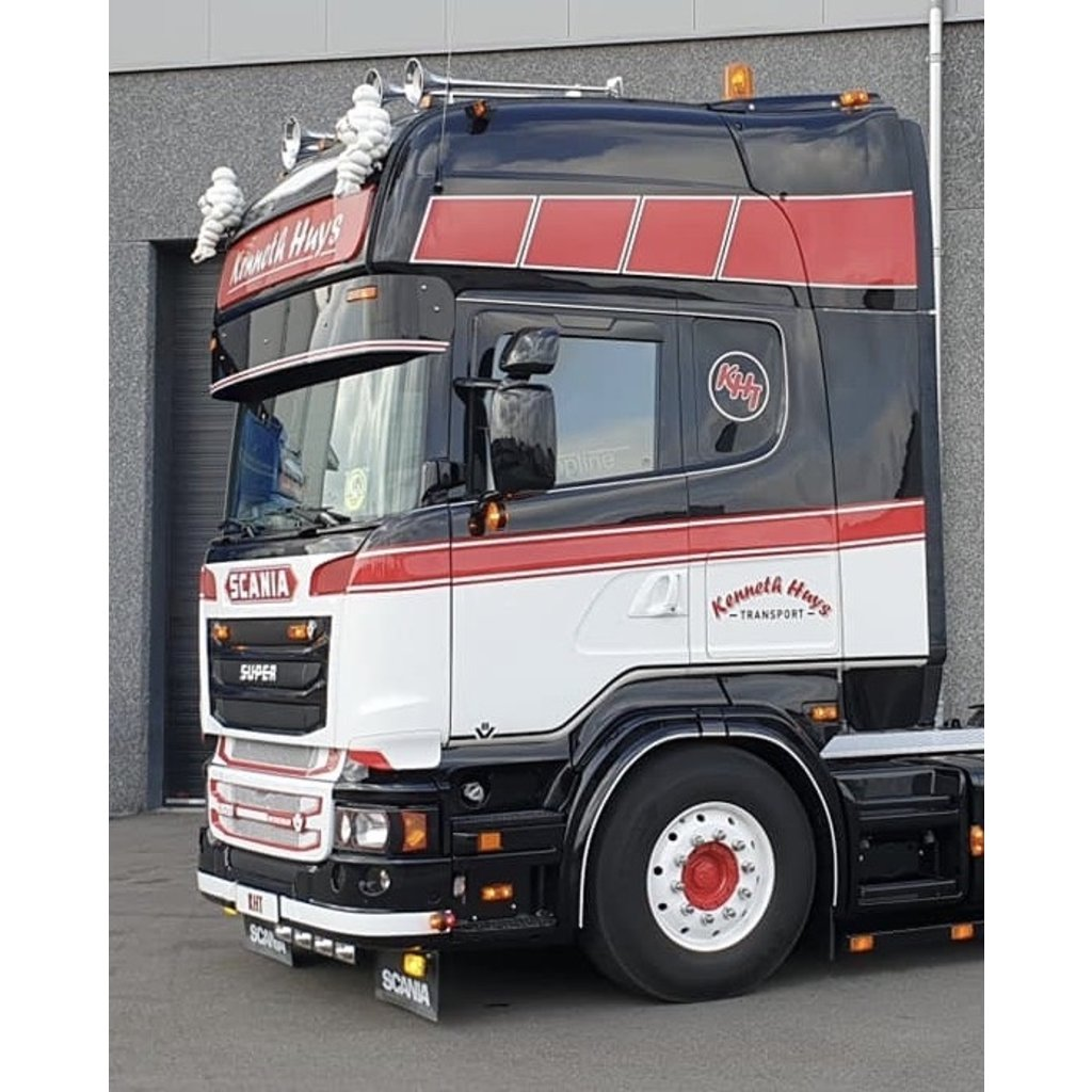 RVS Zonneklep Scania 4-serie / R-serie