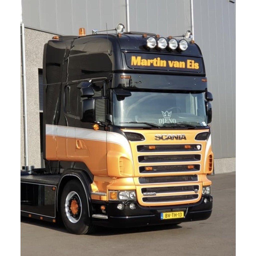 Solarguard Sunvisor Scania 4-serie / R-serie