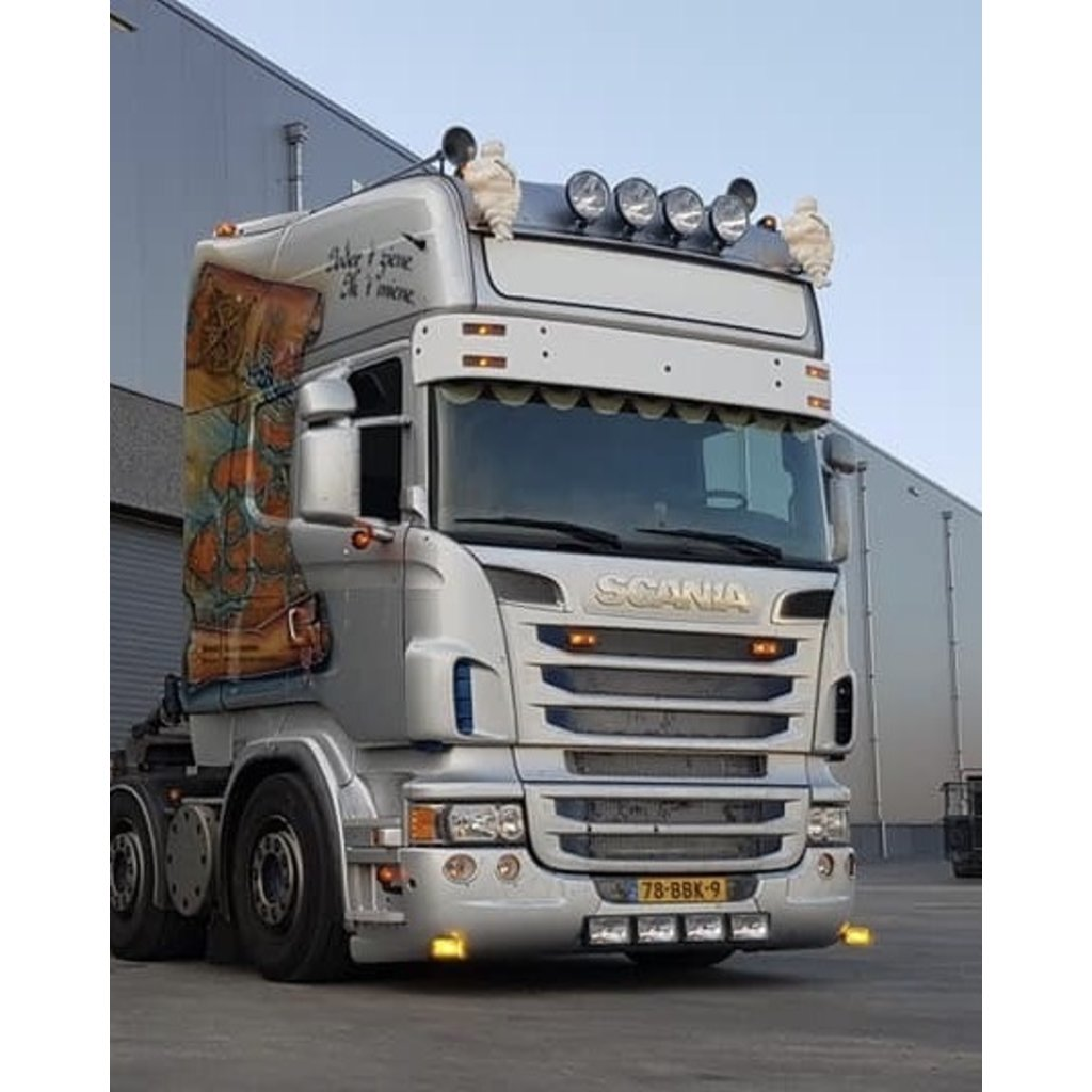 Solarguard Zonneklep Scania 4-serie / R-serie