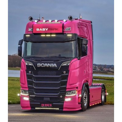 Coles Custom Zonneklep Scania NextGen