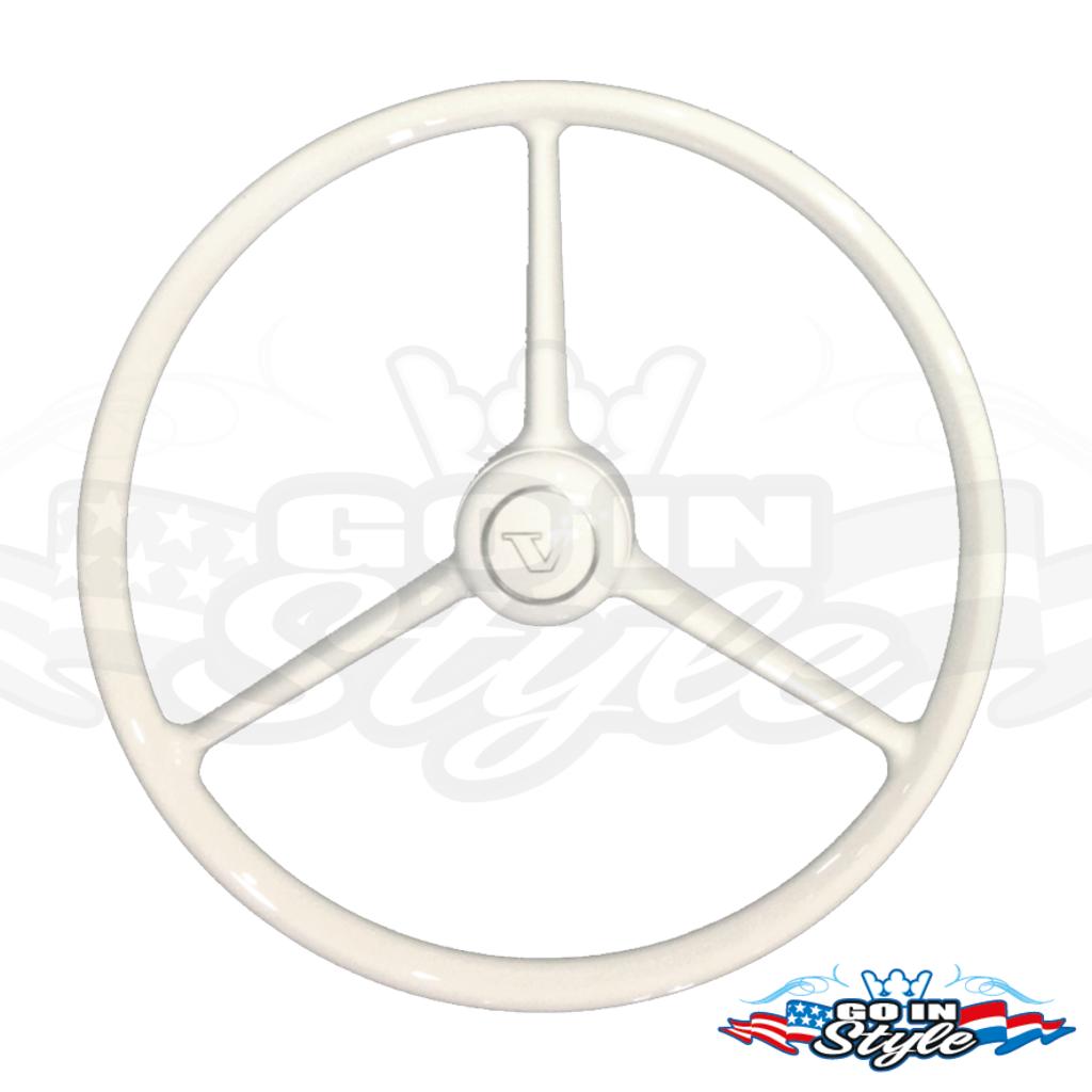 Retro driespaak stuurwiel voor je truck, kies je opties!
