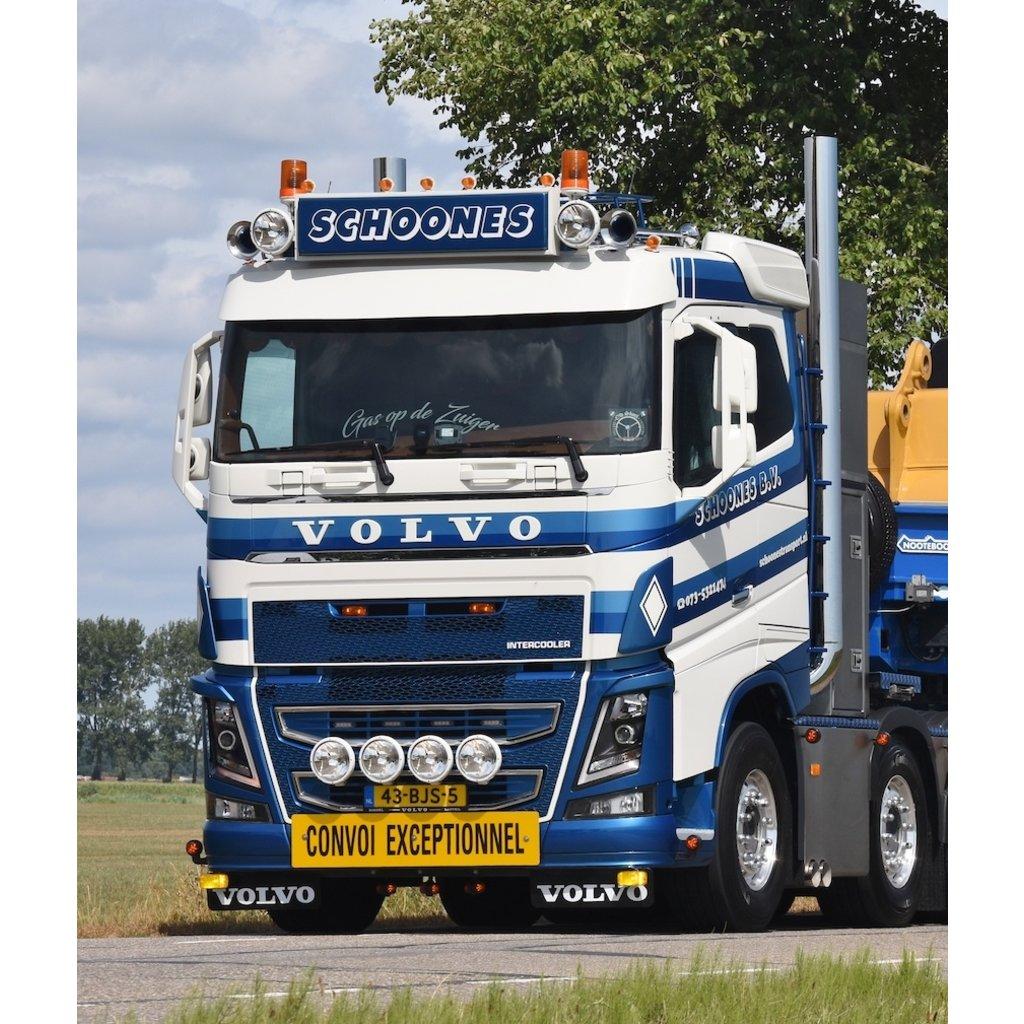 Originele Spatlap Volvo 67 x 38cm