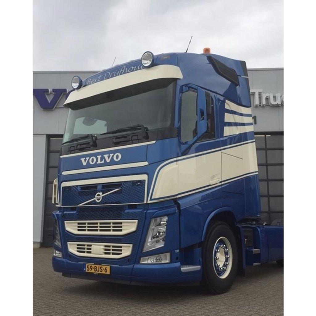 Verstraler steunenset voor Volvo FH4