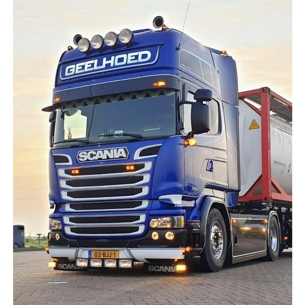 LED Lightsign Scania Topline XL 175x31 cm