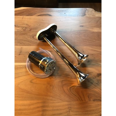 Italian horn 12V with compressor