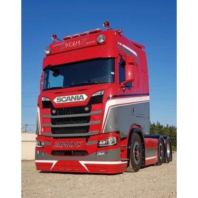 CP Tuning Onderspoiler voor Scania NG lage bumper