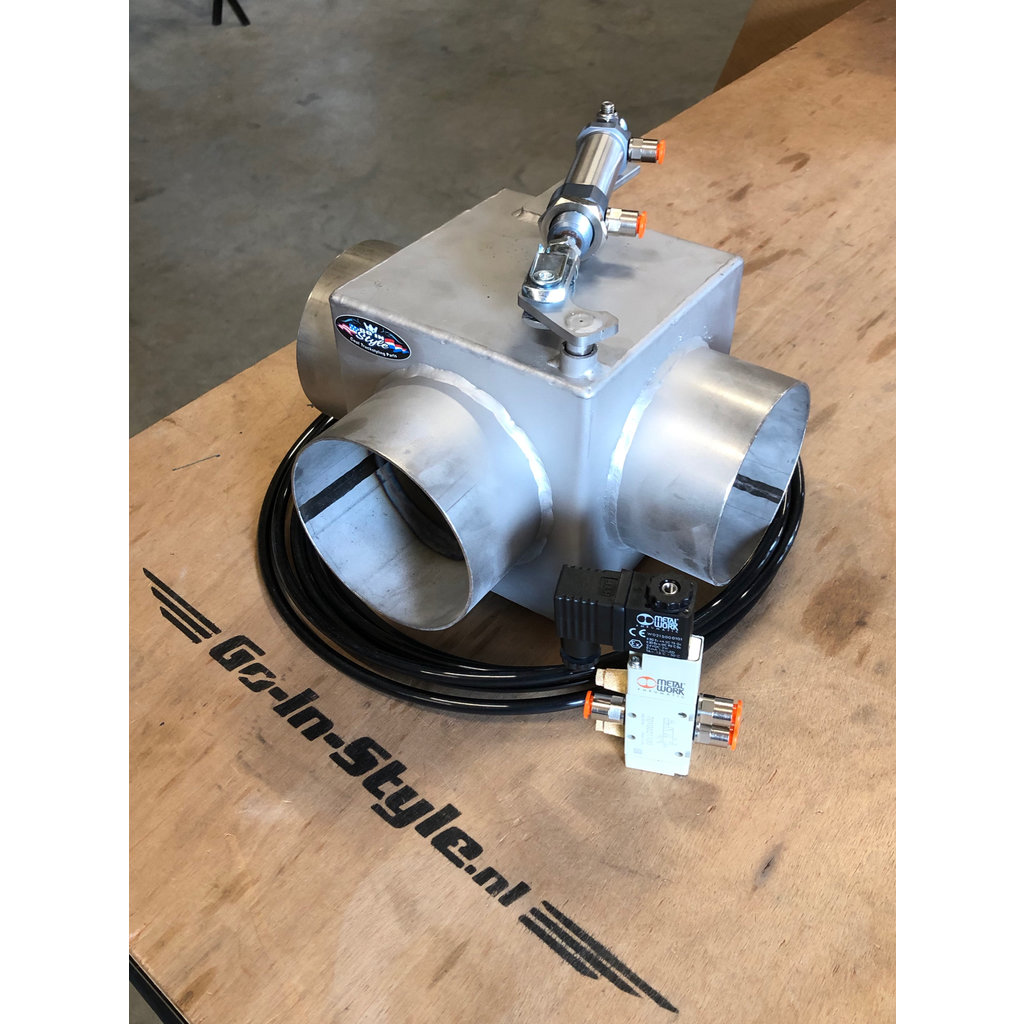 Stainless exhaust valve 114 or 129mm