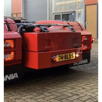 Batterybox extension Scania