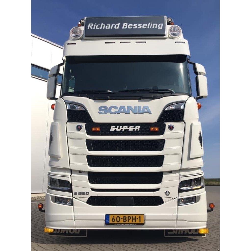 Splitter CP Tuning for Scania Nextgen with medium bumper