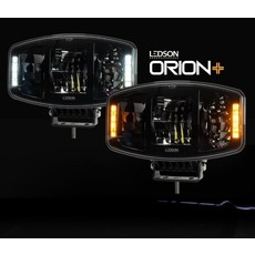 Ledson Orion+ LED Driving light with amber and white positionlight!