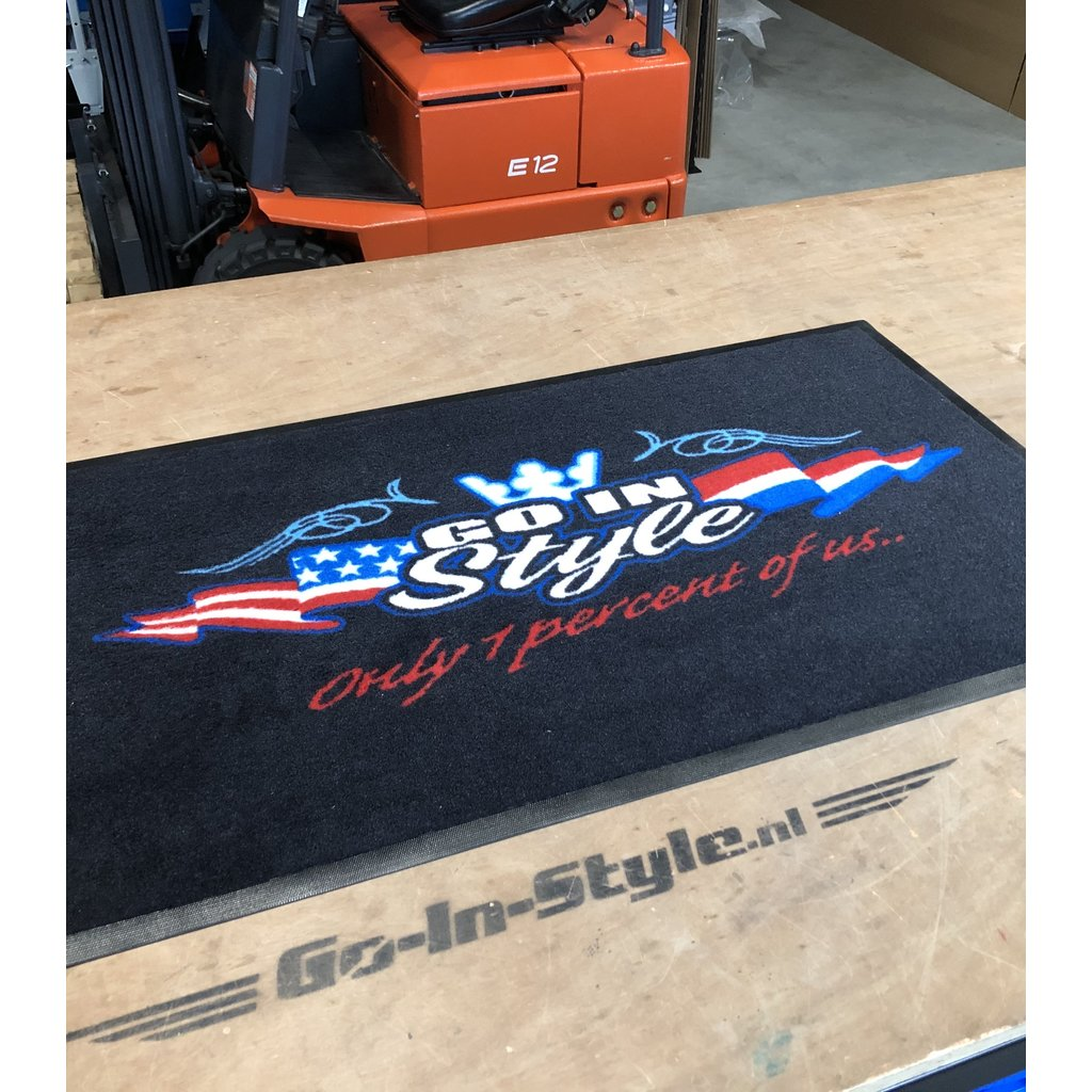 Beautiful Floor Mat with our logo
