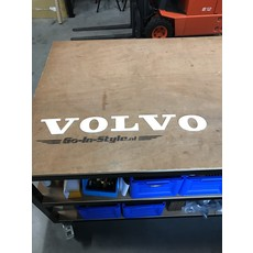 Volvo Letters in Polyester of RVS