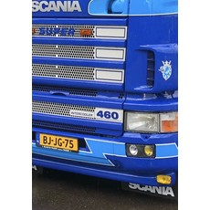 Scania Intercooler bordje