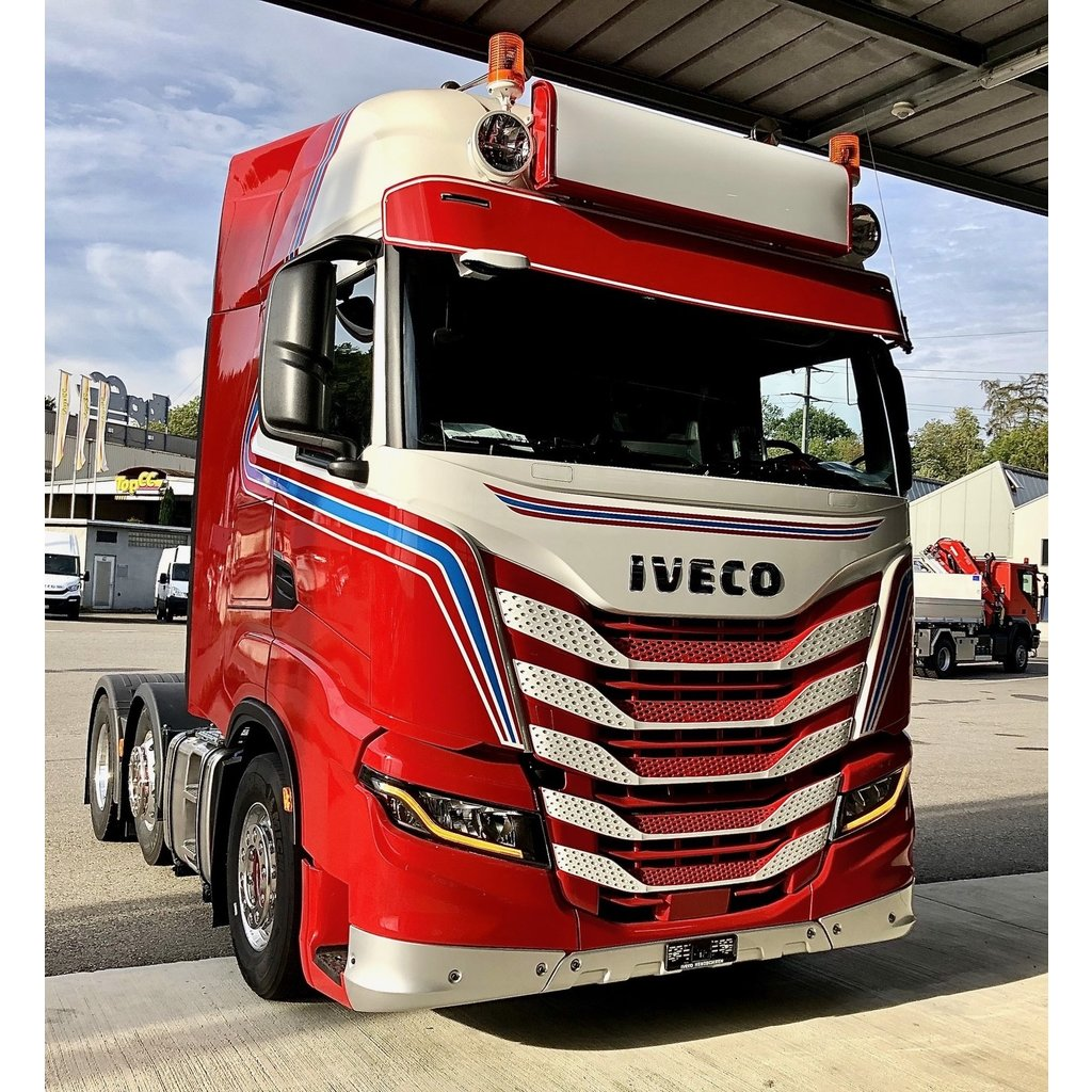 Fox Parts low Sunvisor for Iveco S-Way