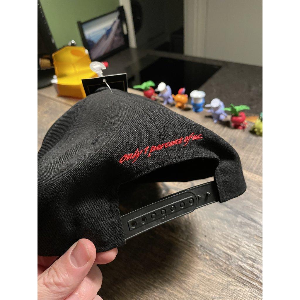 GIS Snapback Cap met een vlakke klep