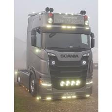 Originele Scania Nextgen LED zonneklep lamp in oranje of  wit