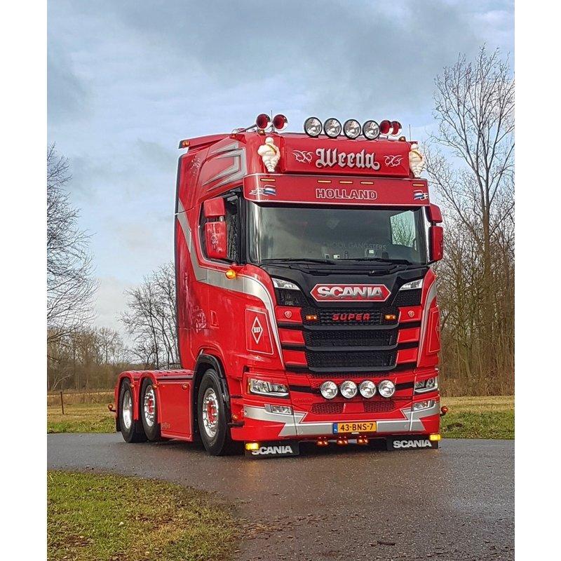 Scania Nextgen LED zonneklep lamp